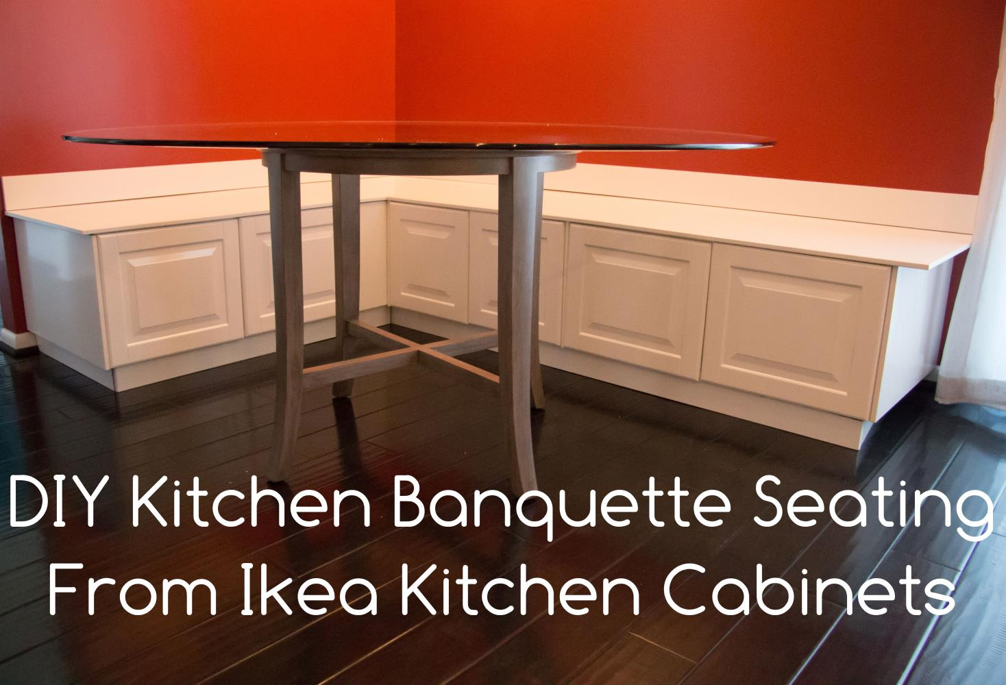 Merveilleux Ikea Diy Kitchen Bench Or Banquette Seating