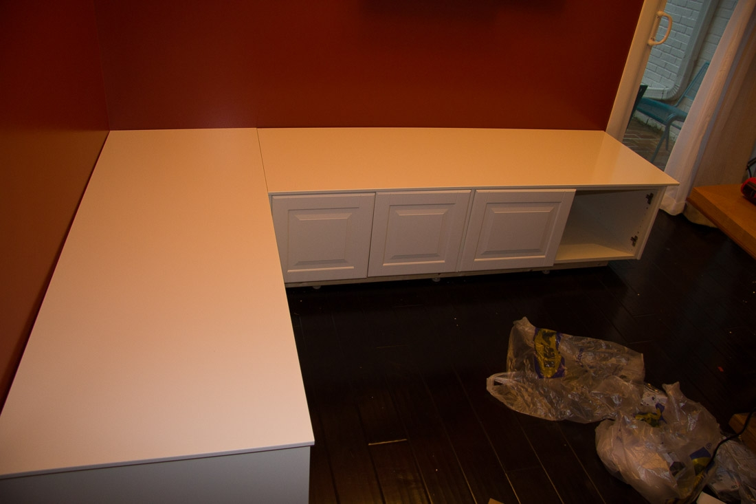 Diy Banquette Kitchen Bench Finishing Touches Super