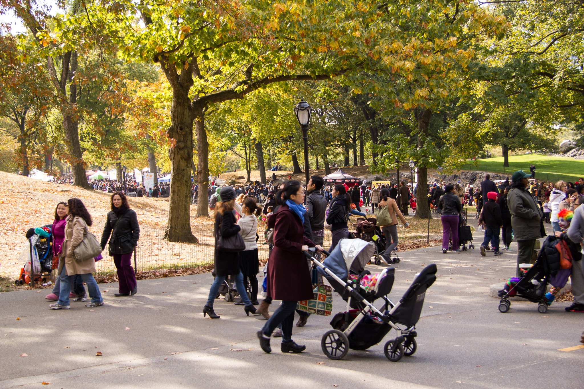 Crowds-in-central-park