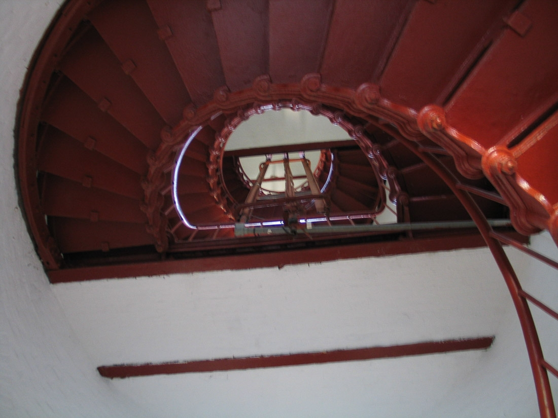Spiral Staircase in Cape Hatteras lighthouse