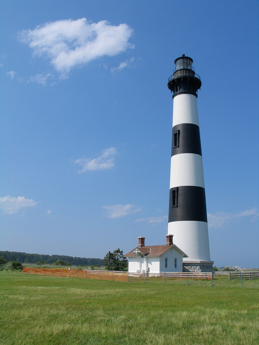 Bodie Point Lighthouse near Outer Banks