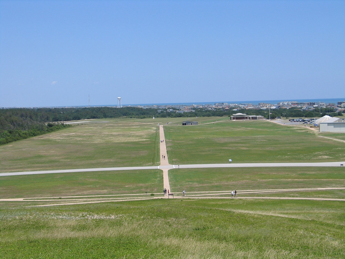 Wright Brothers Memorial Outer Banks (Kill Devil Hills), near Kitty Hawk