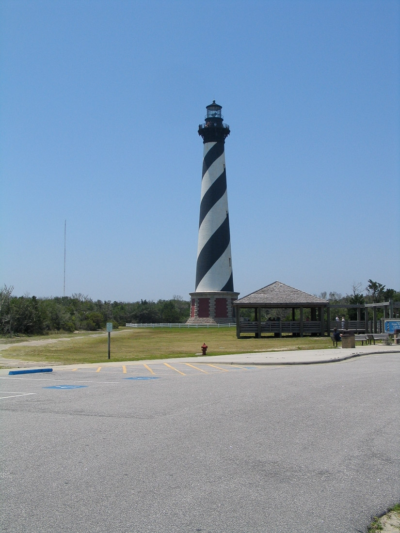 Cape Hatteras Lighthouse near Outer Banks