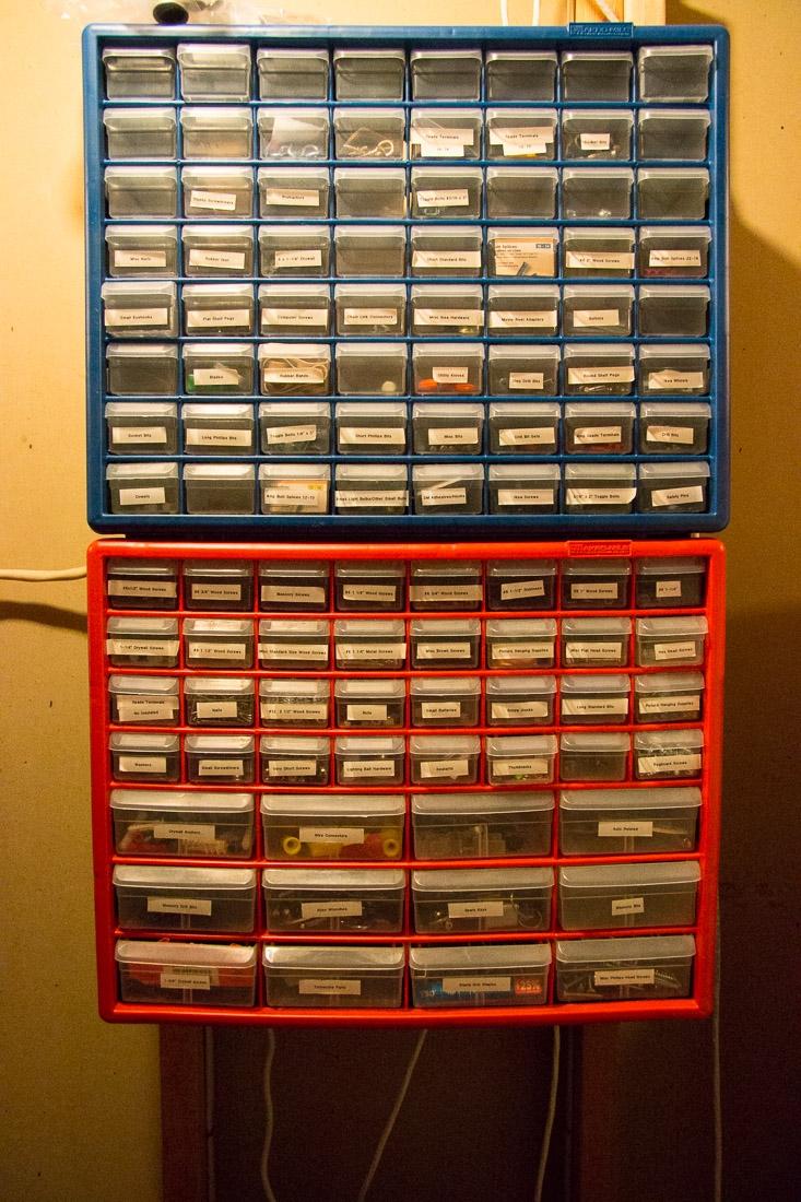 Parts Storage   SuperNoVAWife o