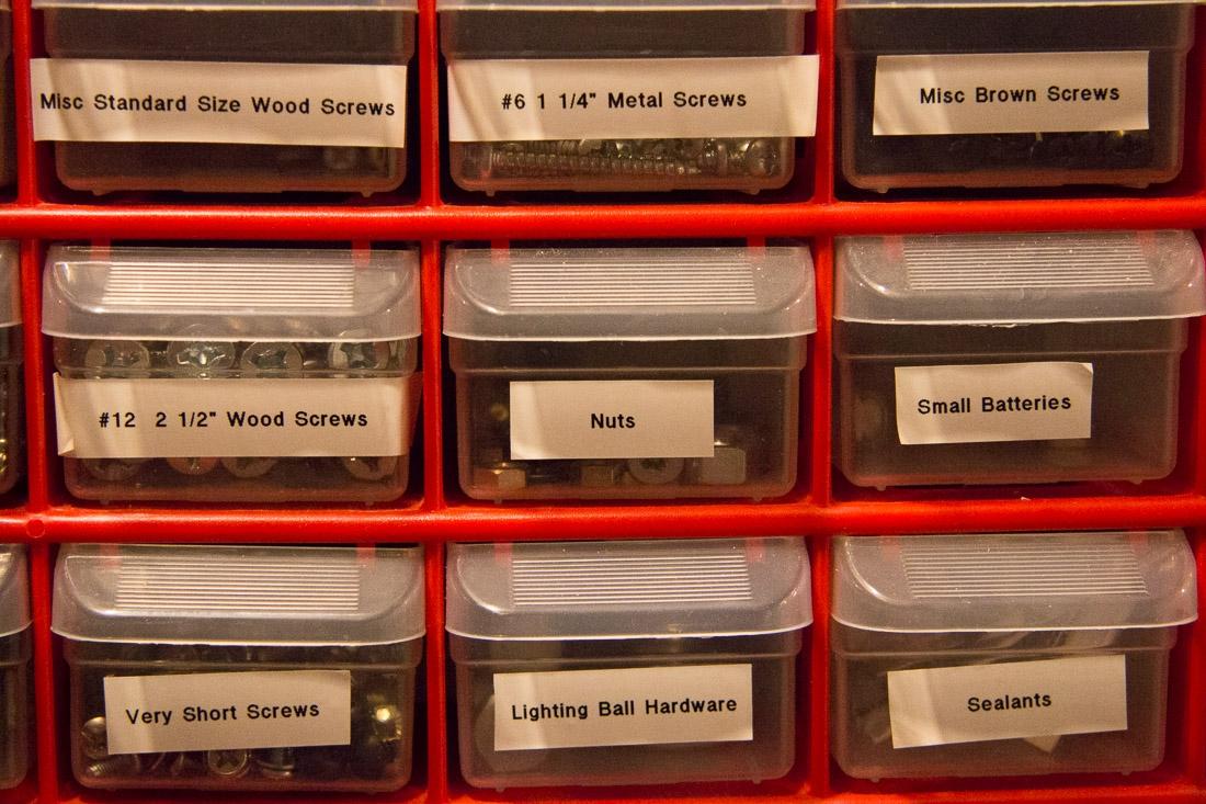 Parts Storage   SuperNoVAWife u