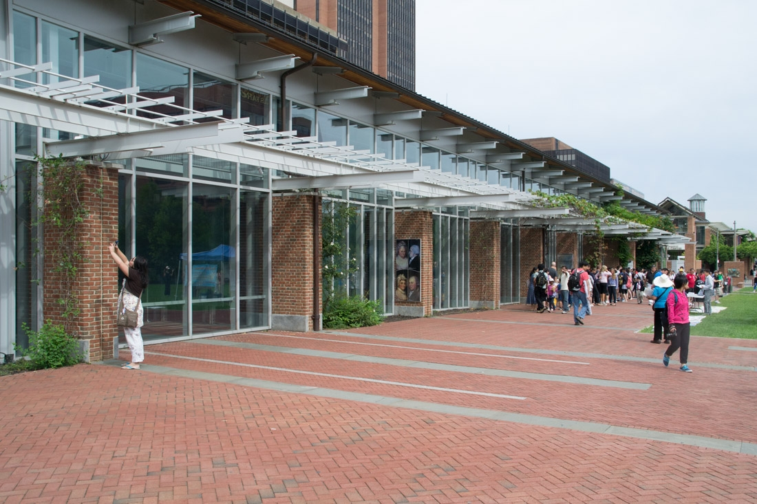 Liberty Bell Center (building) from the outside