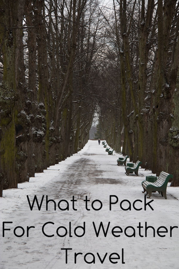 What to Pack for Cold Weather Travel | SuperNoVAWife