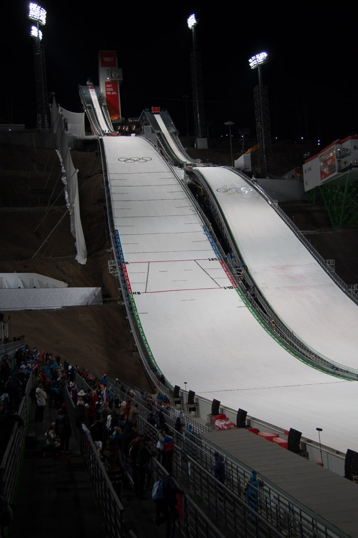 Sochi Olympics - Ski Jumping and Speed Skating-15