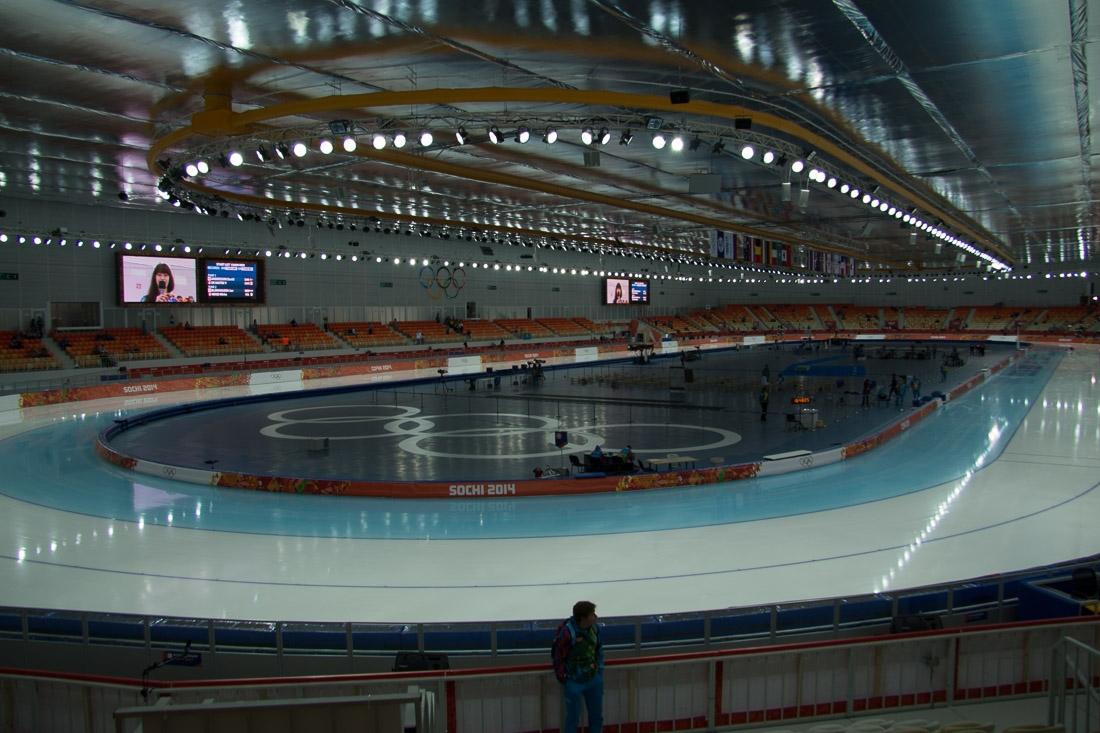 Sochi Olympics - Ski Jumping and Speed Skating-1