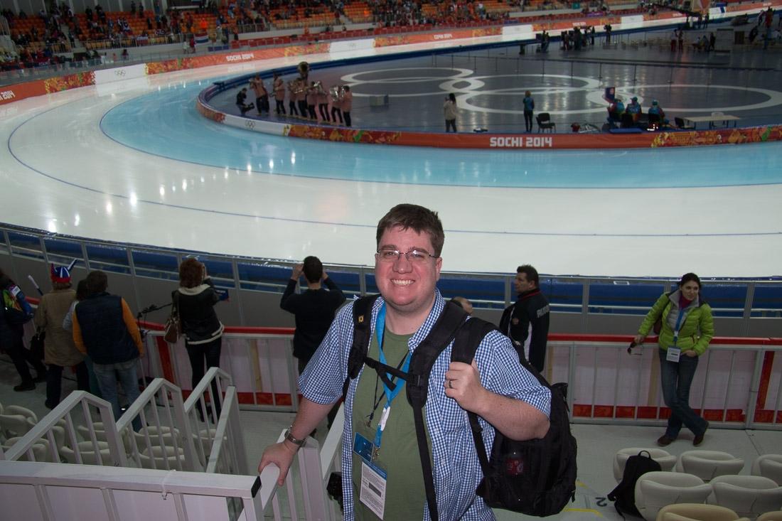 Sochi Olympics - Ski Jumping and Speed Skating-10