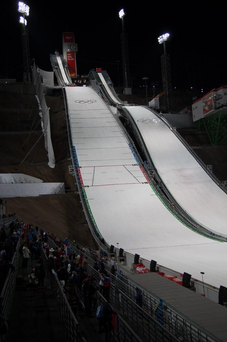 Sochi Olympics - Ski Jumping and Speed Skating-15