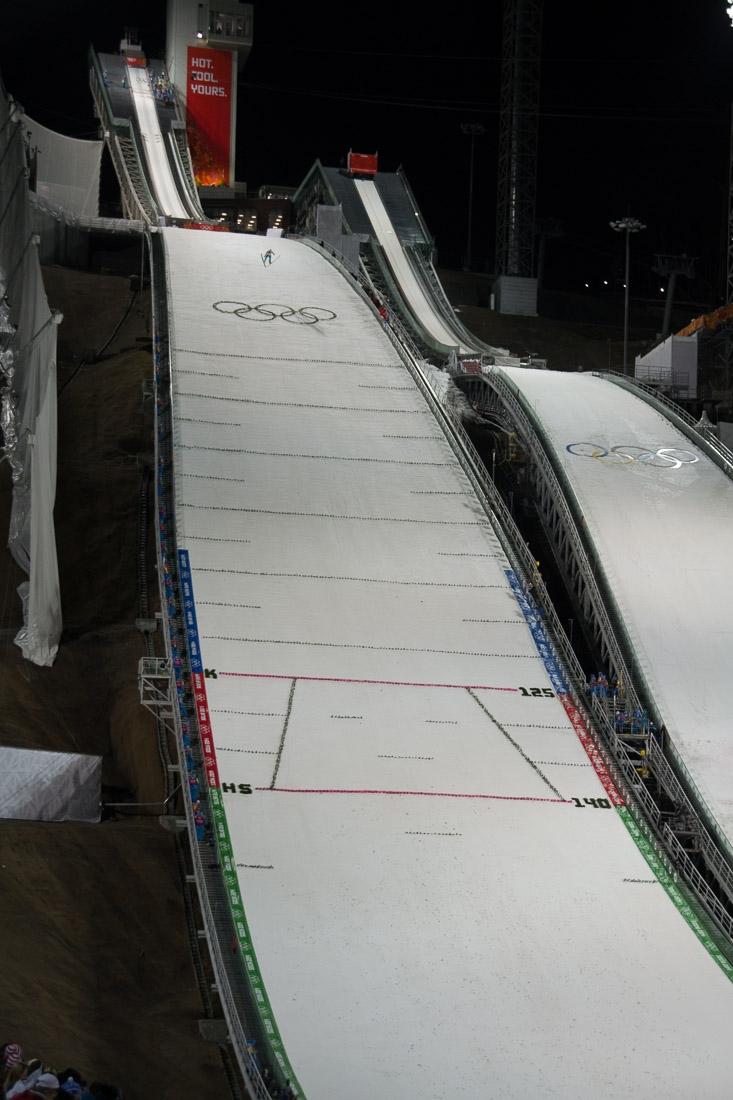 Sochi Olympics - Ski Jumping and Speed Skating-17