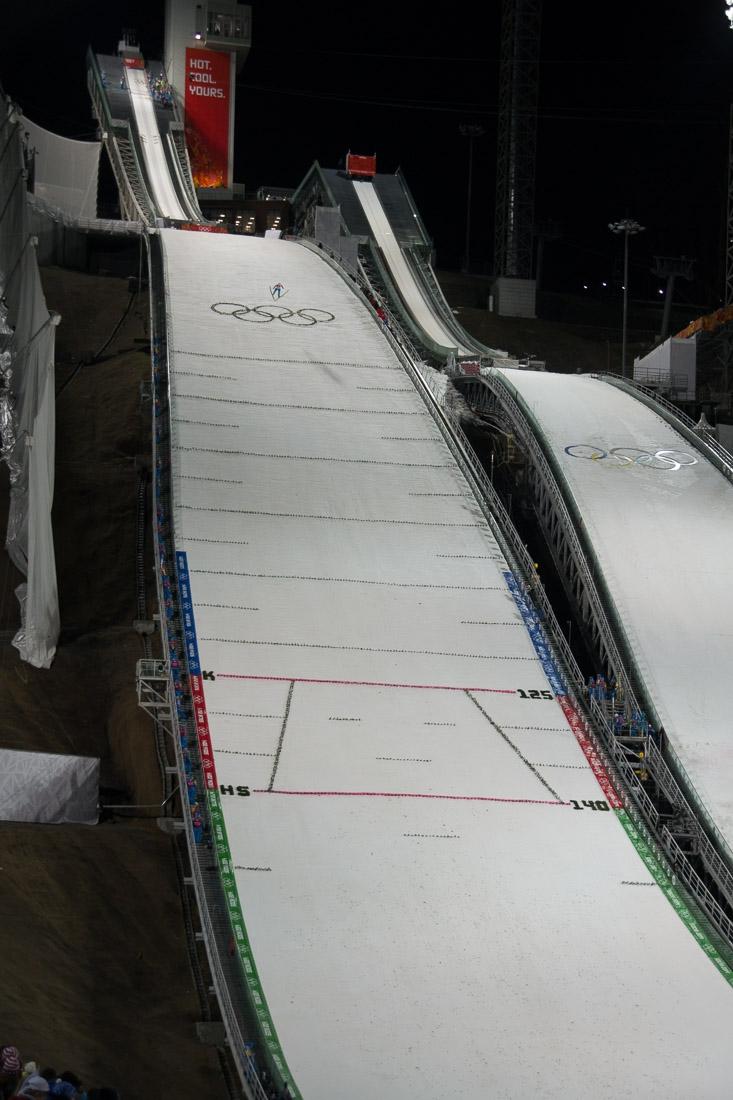 Sochi Olympics - Ski Jumping and Speed Skating-18