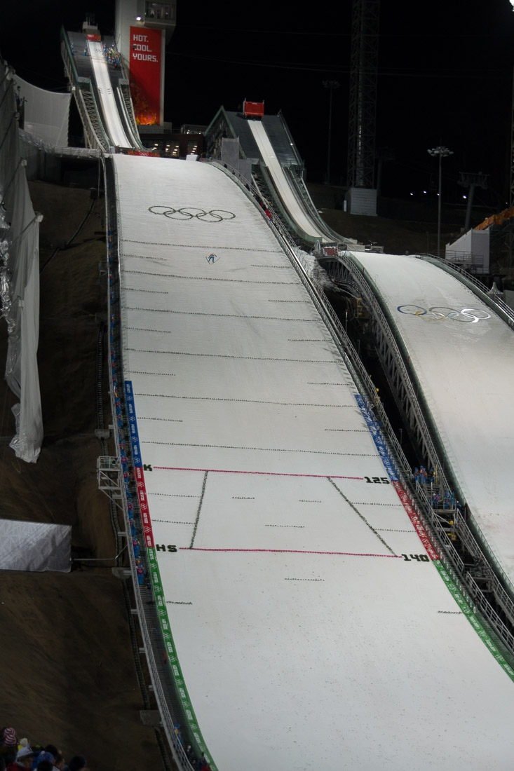Sochi Olympics - Ski Jumping and Speed Skating-20