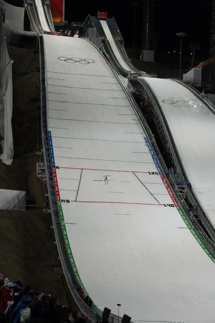 Sochi Olympics - Ski Jumping and Speed Skating-21