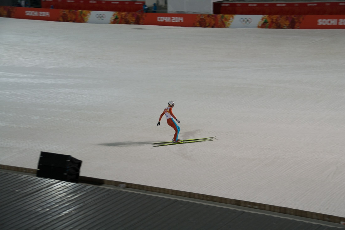 Sochi Olympics - Ski Jumping and Speed Skating-23