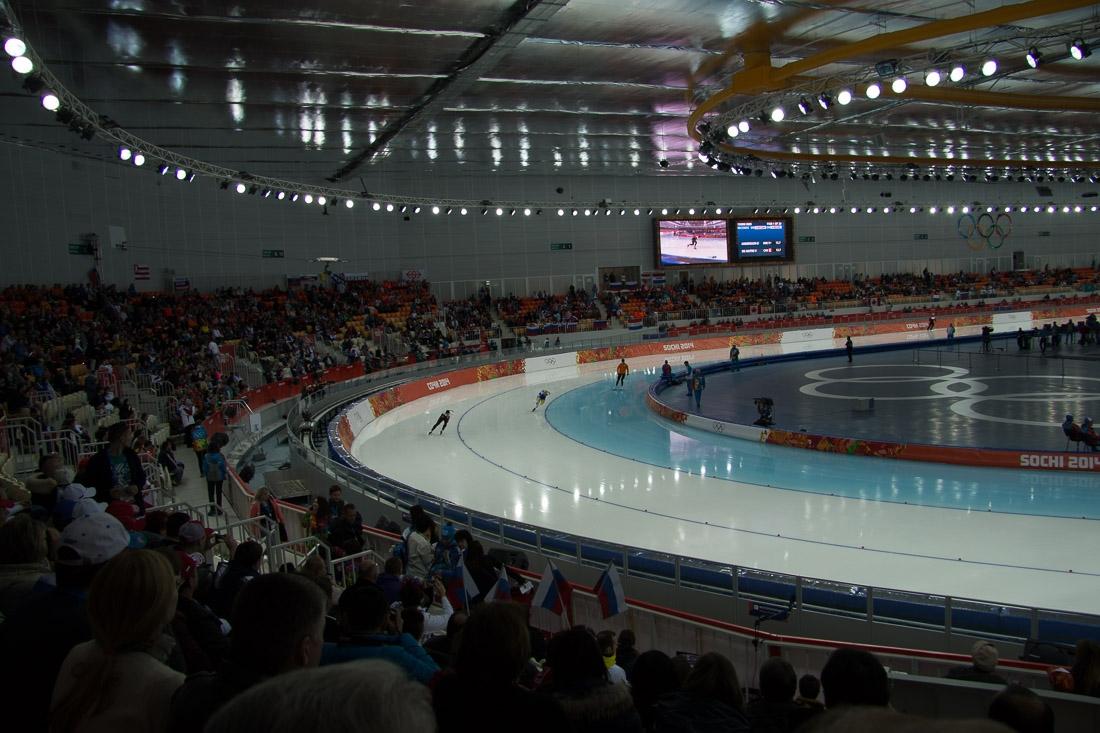 Sochi Olympics - Ski Jumping and Speed Skating-3