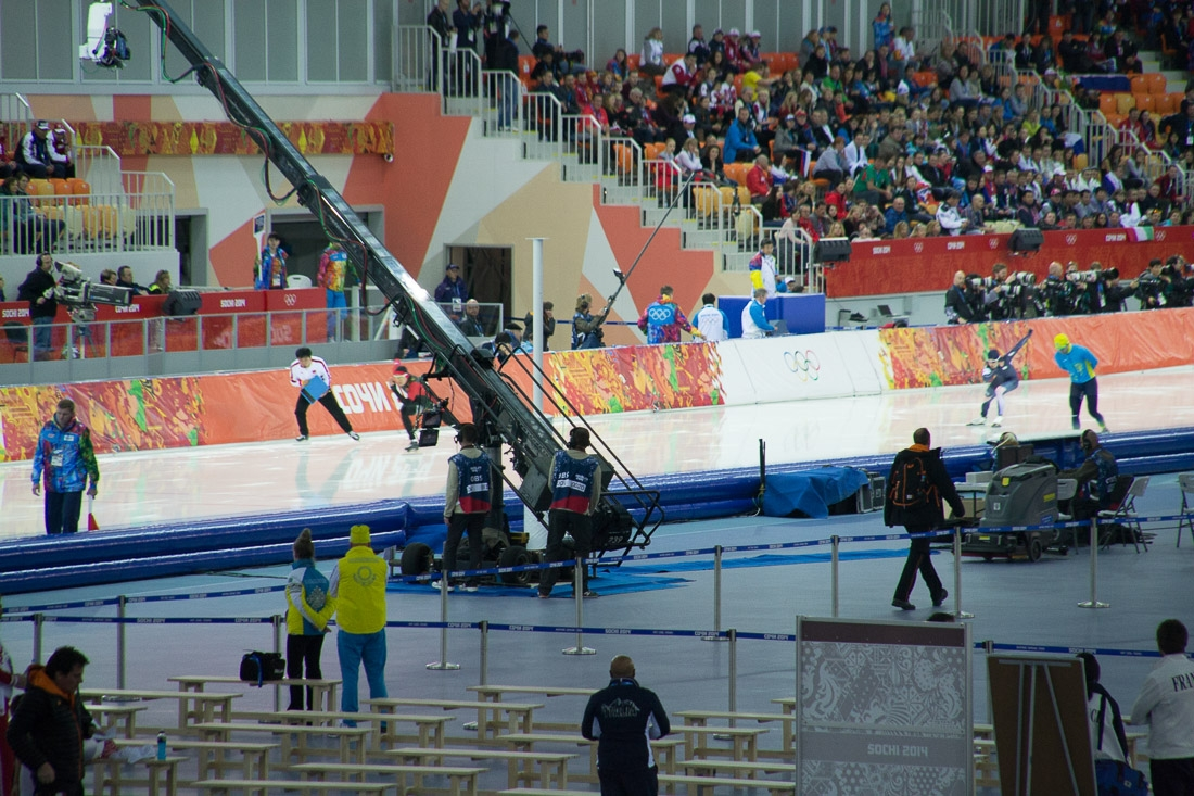 Sochi Olympics - Ski Jumping and Speed Skating-5