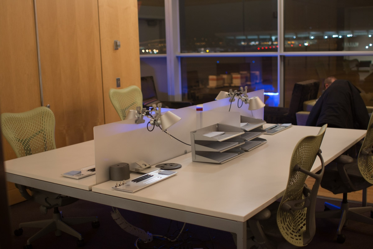 Virgin Atlantic Upper Class Club House - Washington Dulles Airport-4