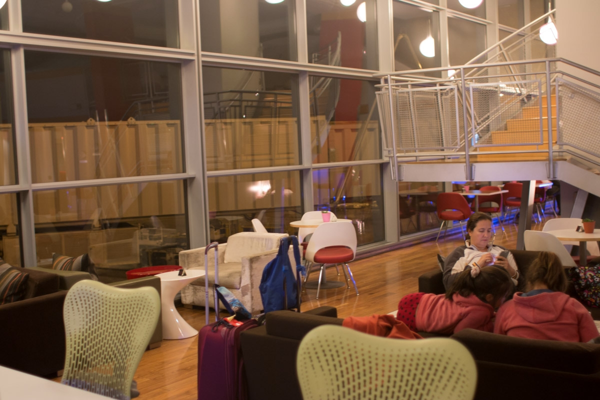 Virgin Atlantic Upper Class Club House - Washington Dulles Airport-5