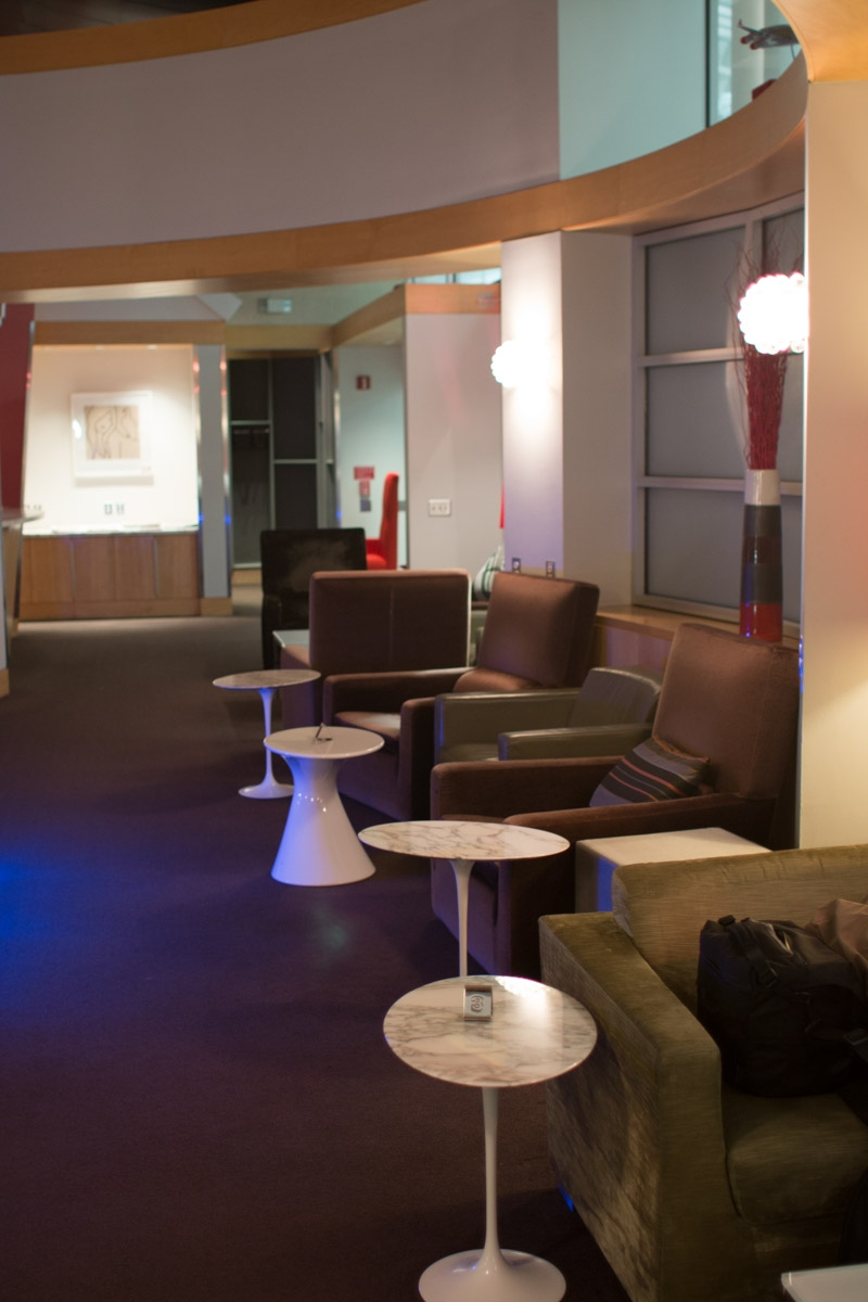 Virgin Atlantic Upper Class Club House - Washington Dulles Airport-6