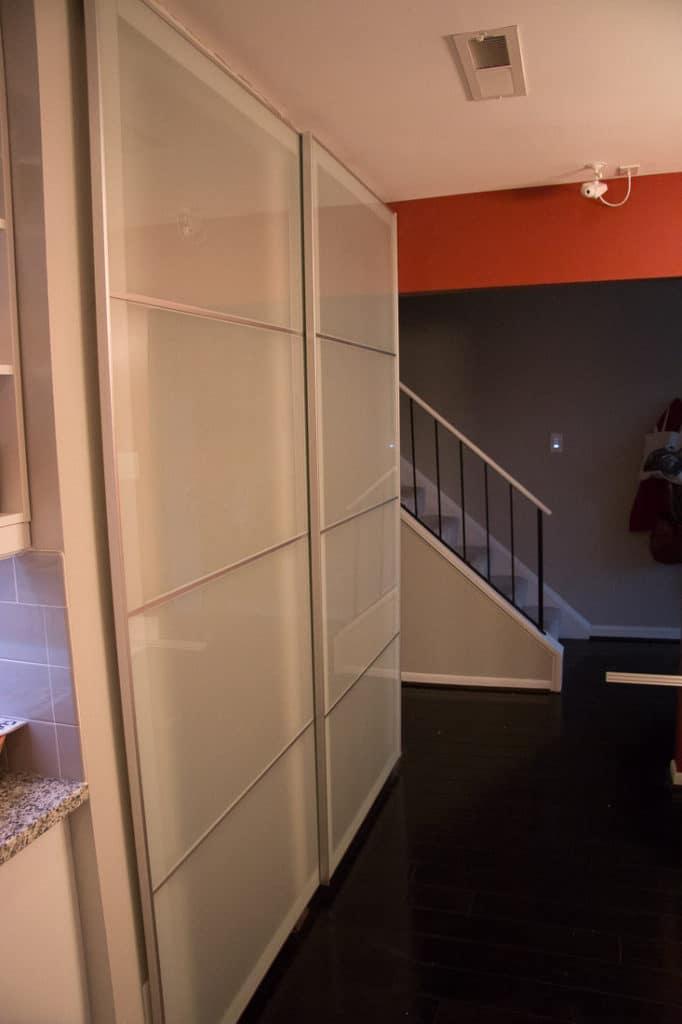 Installing Ikea Pax Doors As Sliding Closet Doors (Ikea