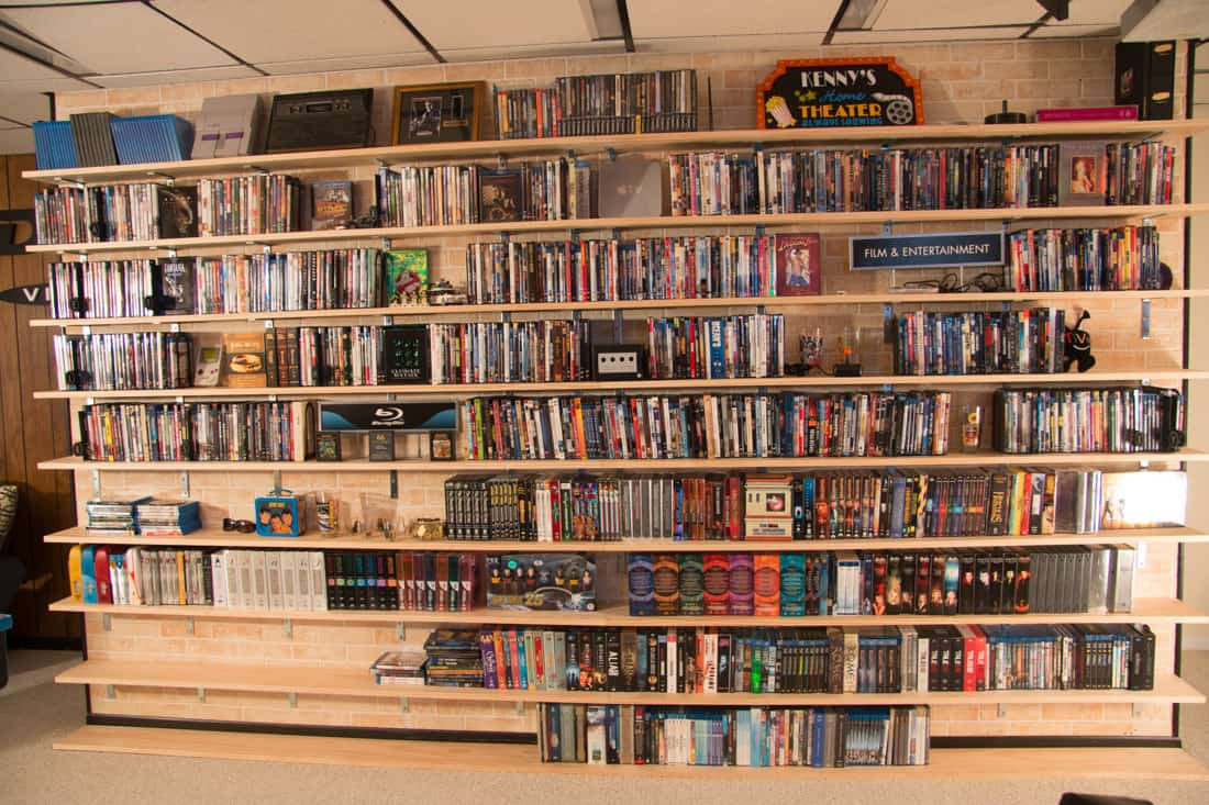 Diy Dvd Shelves For Large Collection Wall Mounted Shelves Rh  Supernovaadventures Com Shelves For Dvd And Cable Box Shelves For Dvd Wall  Mount