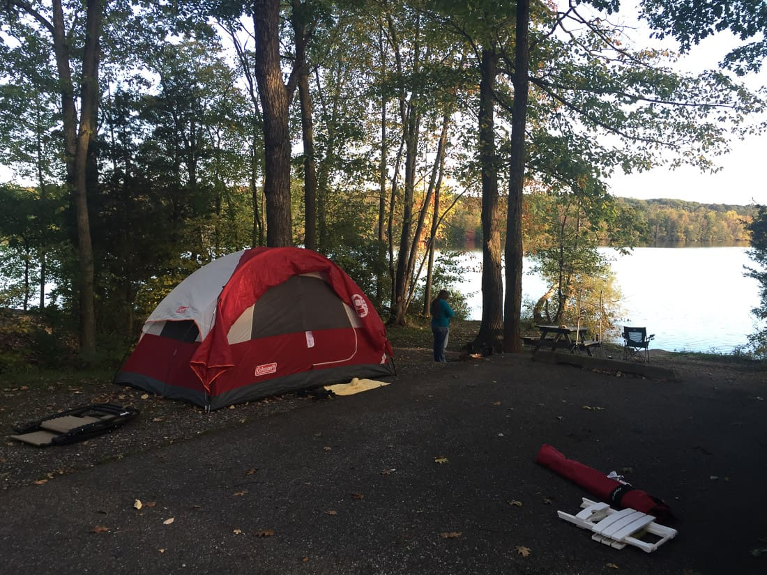 Gifford Pinchot State Park Camping Trip Campground Review