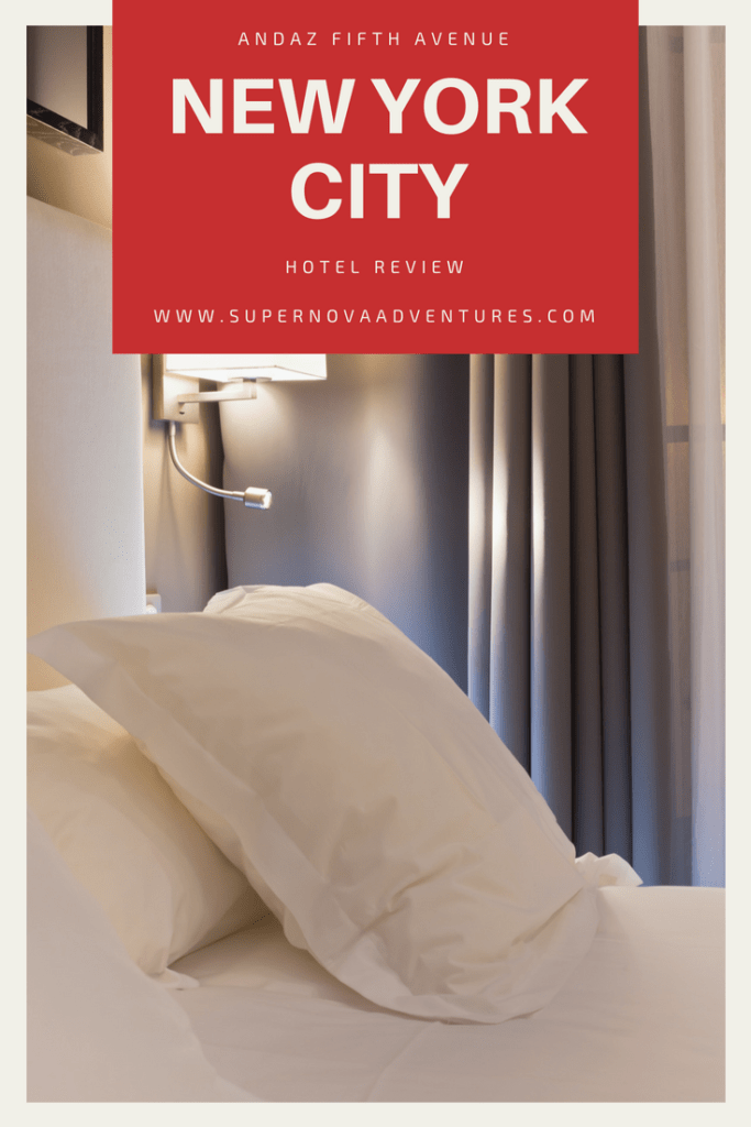 Andaz Fifth Avenue New York City Hotel Review