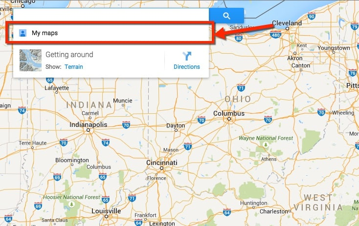 Creating a Custom Google Map to Plan a Daily Travel Itinerary