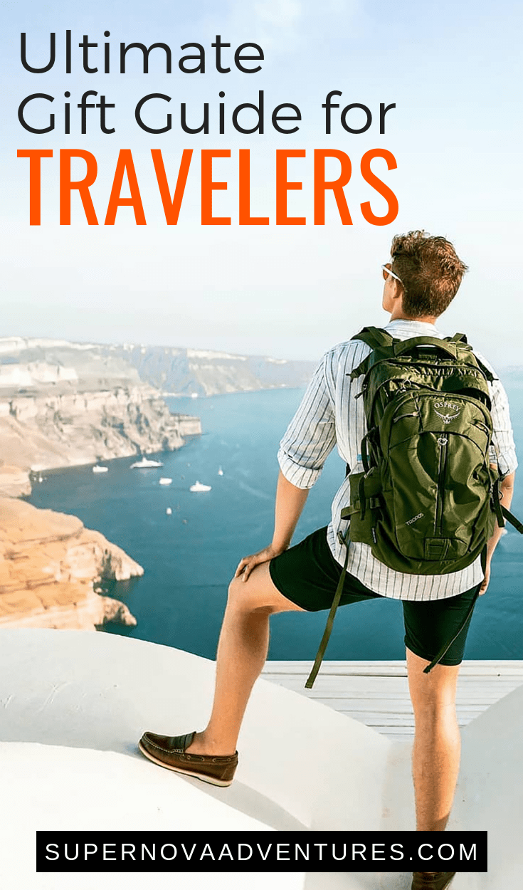 Traveler gift ideas | What to buy people who love to travel
