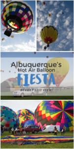 Travel Bucket List Item - The annual hot air balloon fiesta in Albuquerque