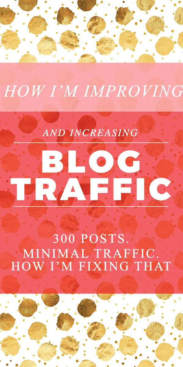 How I'm increasing traffic (and revenue) on my blog
