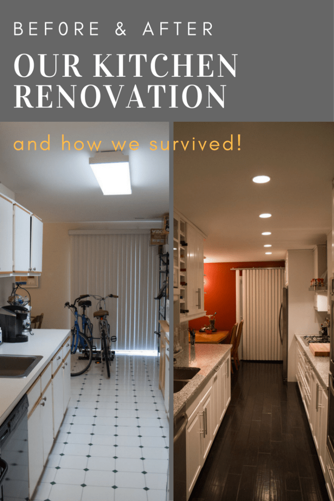 Kitchen Renovation Before and After (Using Ikea Cabinets)