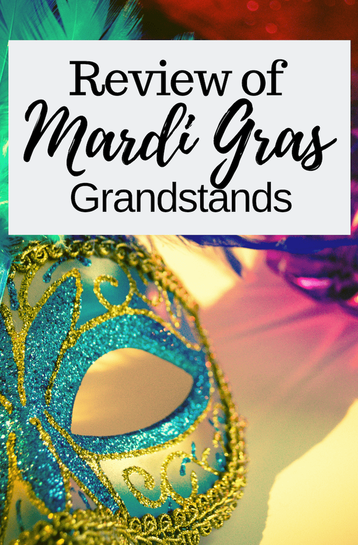 Mardi Gras Grandstands Seating During Parades