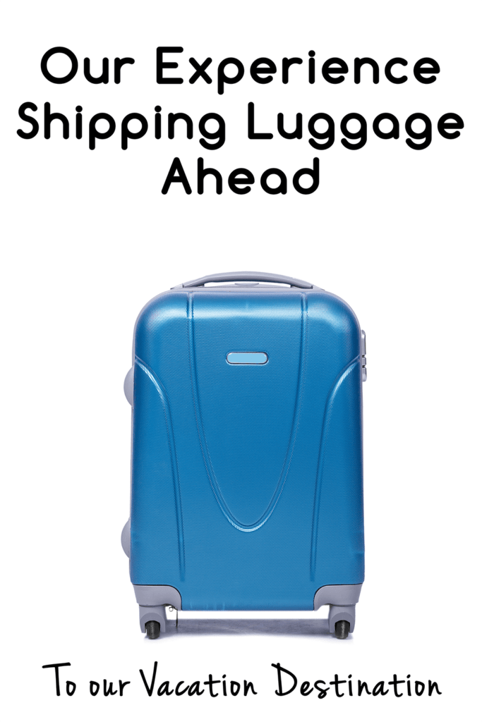 Looking for an easier way to pack and avoid lugging your suitcases to and from the airport? This was our experience shipping our luggage!