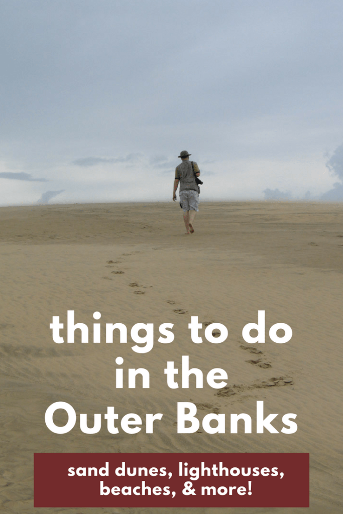 Outer Banks Travel Ideas and Itinerary | Beach, lighthouse, sand dunes, wright brothers memorial