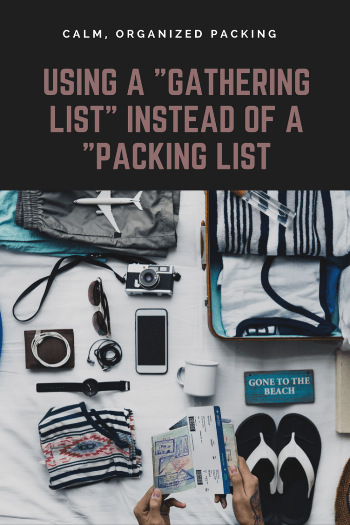 Organized Packing | Packing Lists for Vacations