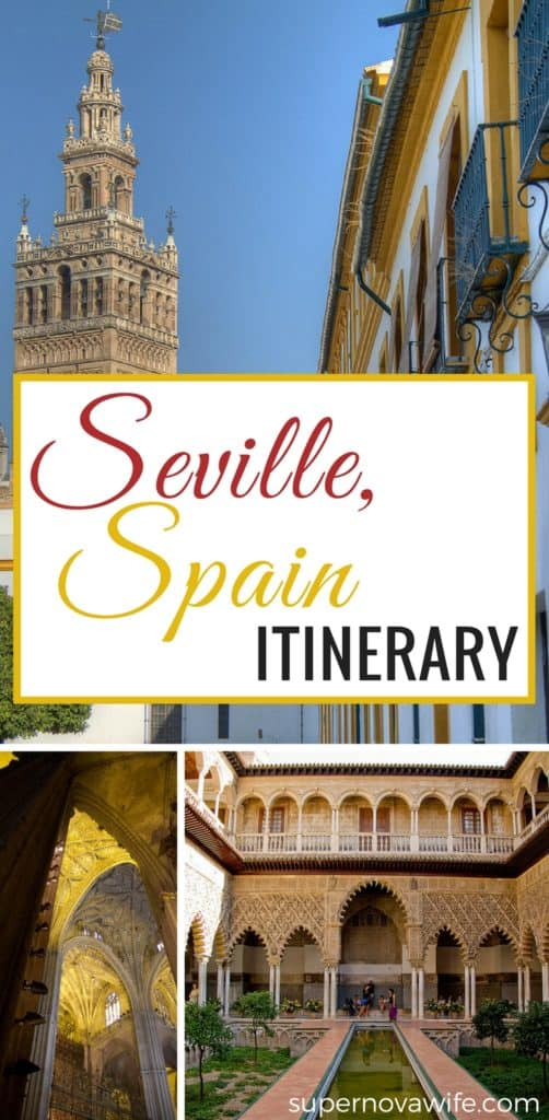 Seville Spain Travel Itinerary and Things to Do | Beautiful Places | Travel