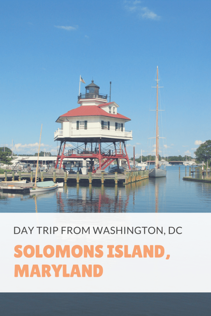Solomons Island, Maryland. Travel day trip from DC | Lighthouses | boats | sculpture gardens