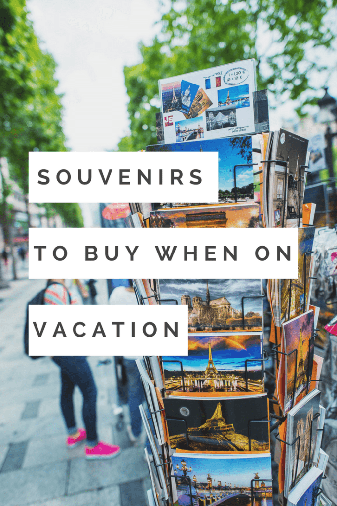 Souvenirs to buy on vacation