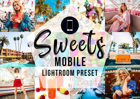 Sweets Mobile Lightroom Preset on Etsy