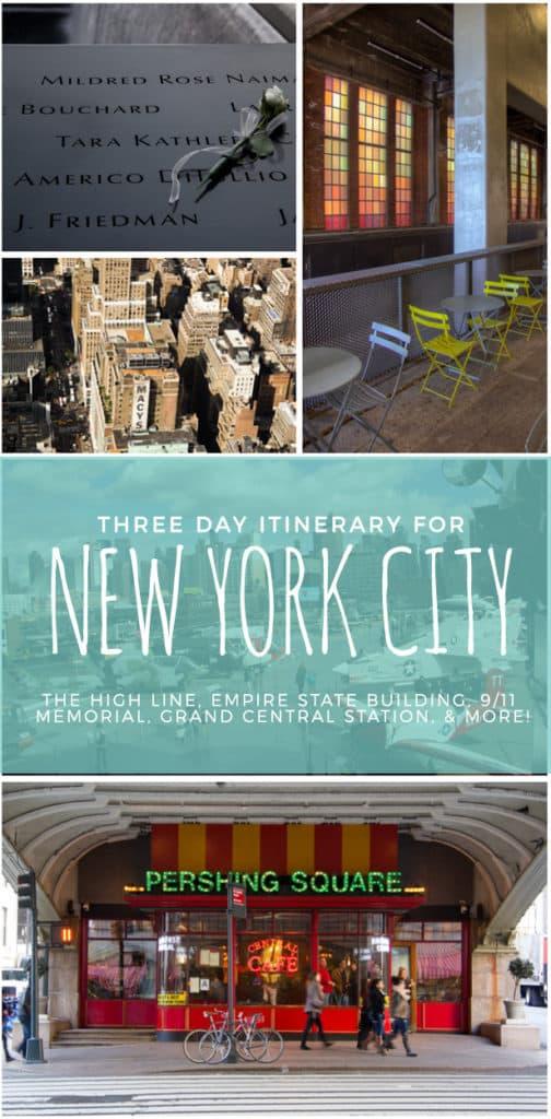 Three Days in New York City | Travel Itinerary
