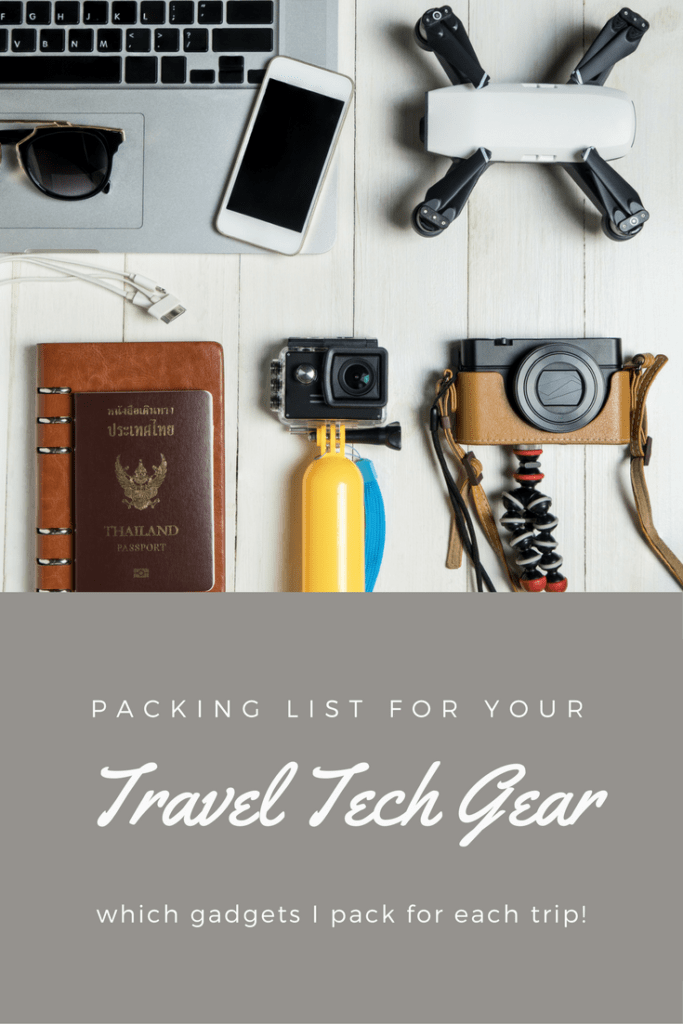 Travel Tech Gear We Pack | Camera | GPS | Laptop