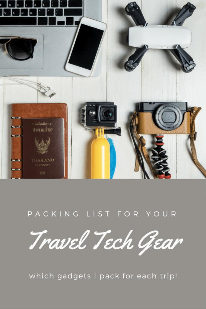 Travel Tech Gear We Pack   Camera   GPS   Laptop