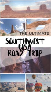 The Ultimate Southwest USA Road Trip