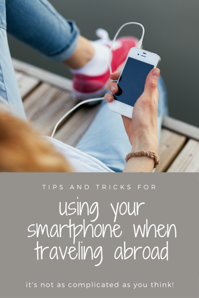 Using your iPhone while traveling abroad