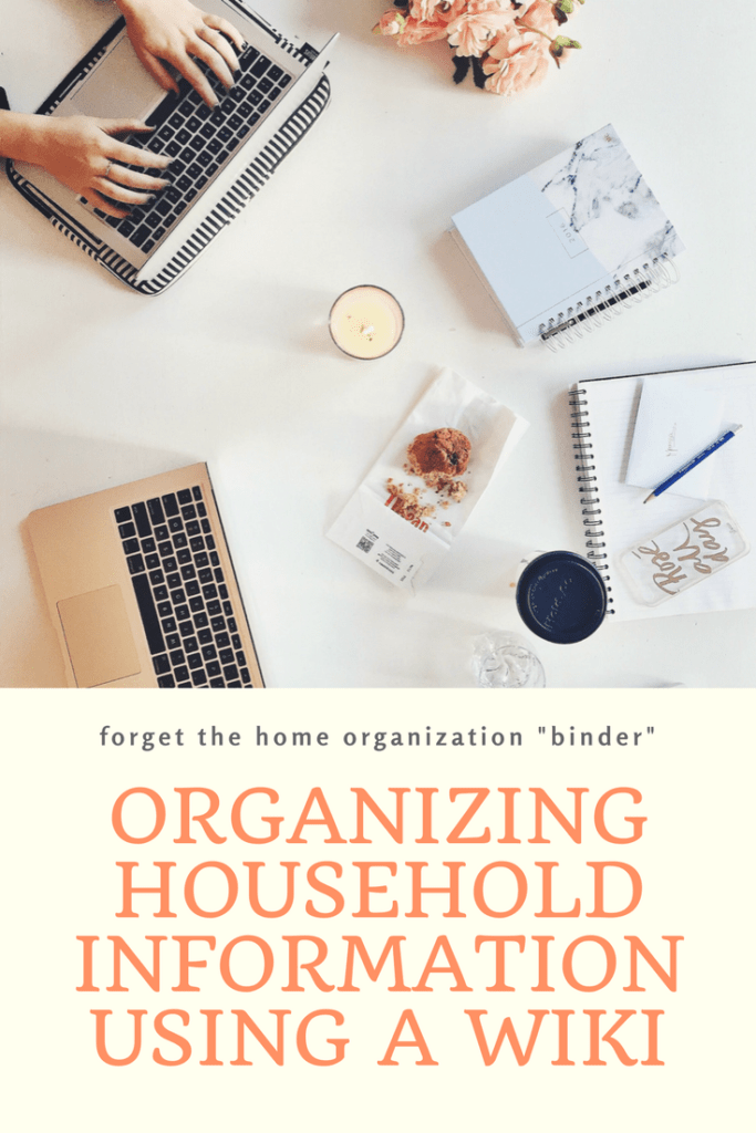 Wiki to organize household information | Household Binder Alternative