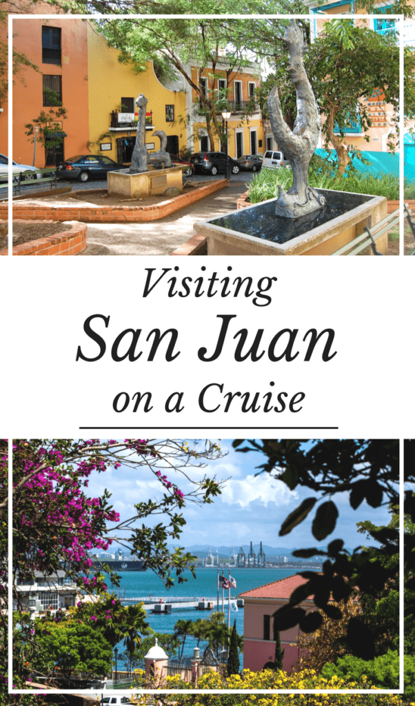 San Juan Puerto Rico on a Cruise Port   Caribbean Cruise