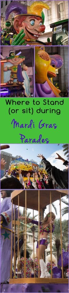 Mardi Gras Parade Seating in Grandstands | New Orleans Travel